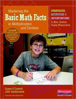 basic math facts multiplication and division