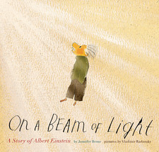 on a beam of light einstein living book