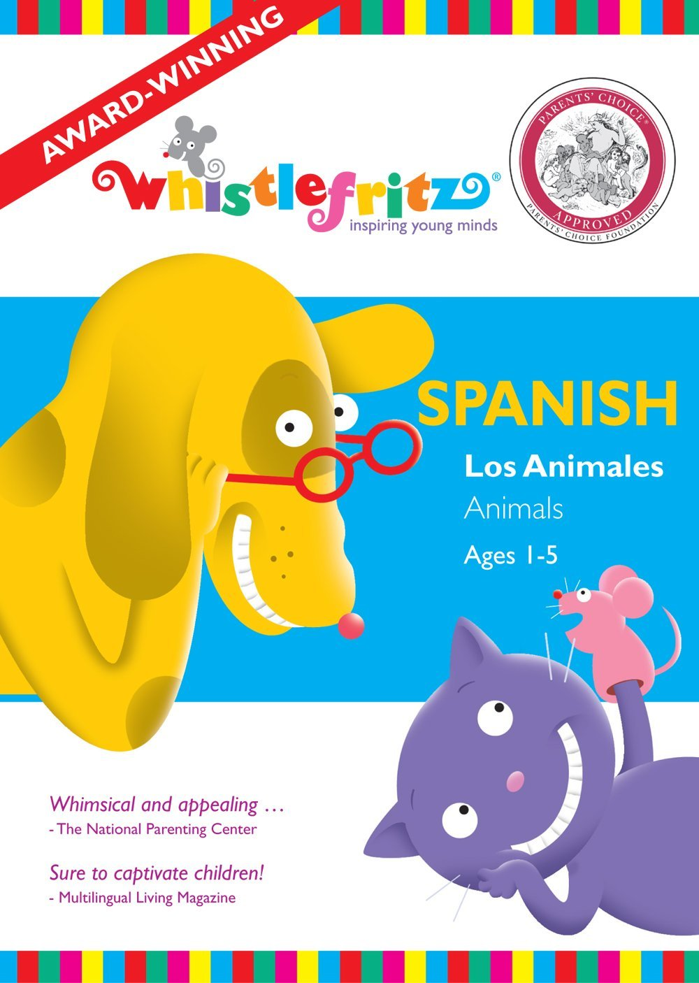 los animales learn spanish
