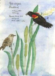 Birds by Jordan River, Karen Rackliffe