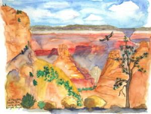 Trip to Grand Canyon, Karen Rackliffe