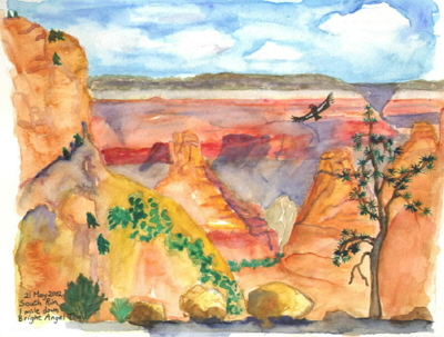 Trip to Grand Canyon, Karen Rackliffe