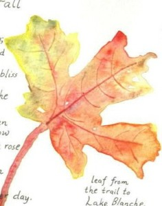 Karen's fall leaf